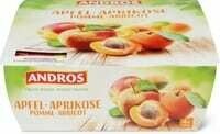 Andros pomme abricot 4 x 100g