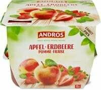 Andros pommes frais 8 x 100g