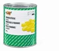 M-Budget Ananas en morceaux 490g