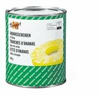 M-Budget Tranches d'ananas 490g