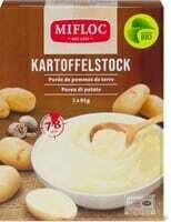 Bio Mifloc Purée de pommes de terre 2 x 95g