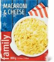 Macaroni & cheese Family 800g
