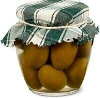 Ortomio olives Cerignola vertes 180g