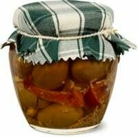 Ortomio olives Calabrese fortes 180g