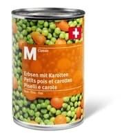 M-Classic petits pois/carottes fins 260g