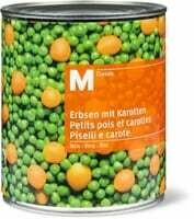 M-Classic petits pois carottes fins 540g
