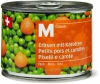 M-Classic petits pois/carottes fins 125g