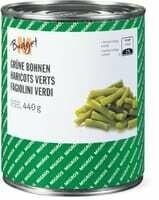 M-Budget Haricots verts 440g