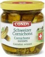 Condy cornichons Suisse 200g