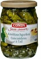 Condy Concombres à l'ail aigre-doux 300g