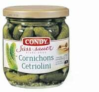 Condy Cornichons aigre-doux 200g