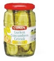 Condy Concombres-Sandwich 190g