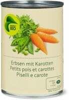 Bio Petits pois et carottes 265g