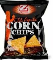 Zweifel Corn Chips Chili paprika 125g