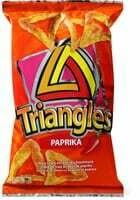 Triangles paprika 100g