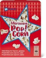 M-Classic microwave Popcorn salés 4 x 100g