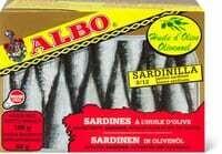 Albo Sardinillas à l'huile d'olive 82g