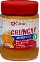 M-Classic crunchy Beurre de cacahuètes 350g
