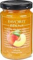 Favorit confiture Pêches 65% fruits 330g