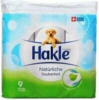 Hakle Propretà Nat. Papier hygiénique 9 Pce