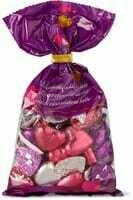 Coeurs au chocolat au lait colorés 200g