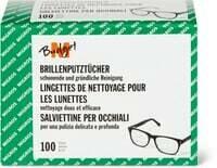 M-Budget Lingettes de nettoyage pour lunettes 100 Stk.