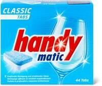 Handymatic Classic tabs pour lave-vaisselle 44 Stk.