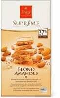 Suprême Blond amandes 180g