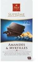 Suprême Amandes-Myrtilles 100g