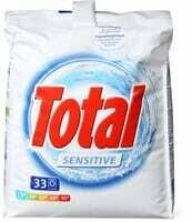 Total Produit de lessive Sensitive 2.475kg