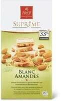 Suprême Blanc/Amandes 180g