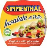 Simmenthal salade Poulet haricots 160g