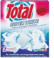 Total super white 2x40g