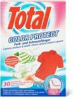 Total Lingettes individuelles Color Protect 30 Pce