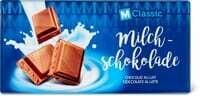 M-Classic Chocolat au lait 100g