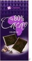 M-Classic 80% cacao Uganda 100g