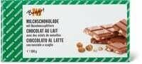 M-Budget Chocolat au lait noisette 100g
