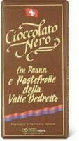 Barre de chocolat Biscuit et crème 100g