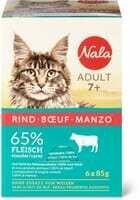 Nala Adult 7+ Bouef 6 x 85g