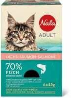 Nala Adult Saumon 6 x 85g