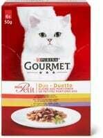 Gourmet mon Petit Duetto viande 6 x 50g