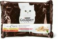 Gourmet à la Carte Viande & poisson 4 x 85g