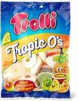 Trolli Tropic o's 200g