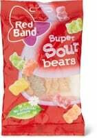 Red Band Sour bears 100g