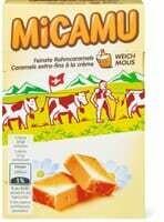 Micamu Caramels à la crème mous 155g