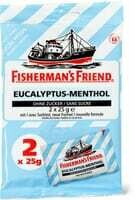 Fisherman's Friend Eucalyptus-menthol  2 x 25g