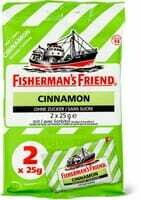 Fisherman's Friend Cinnamon  2 x 25g