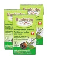 Bonherba pastill.aux herbes sans sucre 3 x 25g