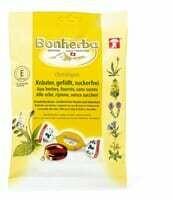 Bonherba bonb.herbes fourrés, sans sucre 150g