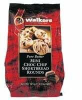 Walkers Mini Choc Chip Shortbread 125g